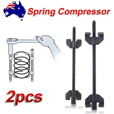 2x Coil Spring Compressor Clamp Car Truck Auto Tool Set 380mm Duty Heavy Quality