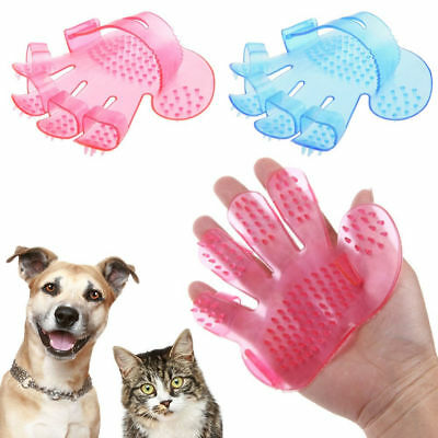 Pet Dog/Cat Hair Grooming, Cleaning, Massage Bath/Shower Hand Shaped Glove Comb