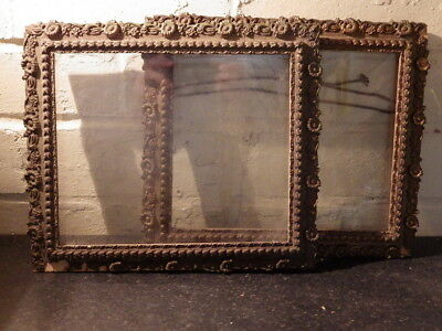 PAIR OF VICTORIAN Giltwood 19th Century ANTIQUE PICTURE FRAMES