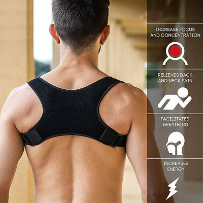 US 2019 BodyWellness Posture Corrector Adjustable to All Body Size FREE SHIPPING