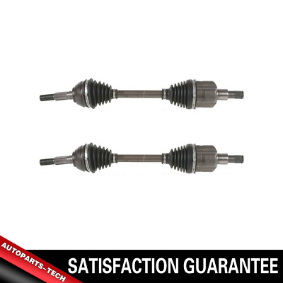 Pair Front CV Axle Shaft for CHEVROLET TRAILBLAZER 02-09