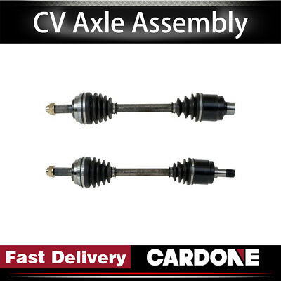 Pair Front CV Axle Drive Shaft for GMC CANYON 04-12