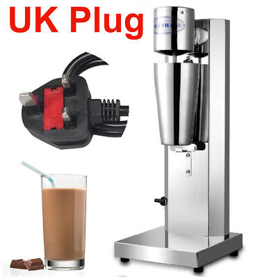 Commercial Milkshake Maker Machine Stainless Steel Frother Cup Smoothie Blender