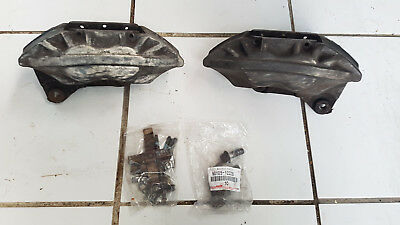 LS400 FRONT BRAKE Calipers 4 Pistons Left+Right Supra Soarer Lexus