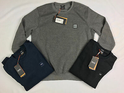 Hugo Boss Sweatshirt / Jumper / Sweater - ALL SIZES - Colours Grey, Black & Navy