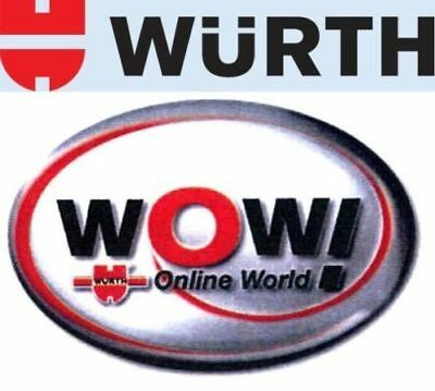 DIAGNOSTIC SOFTWARE 2018 WOW WURTH  includes 2018 cars download German Deutsche