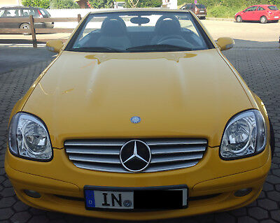Mercedes Benz Slk Facelift R170 230 Kompressor mit Tuning