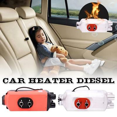 12V 5KW Diesel Air Heater With Remote For Truck Boat Caravan Bus Car Thermostat