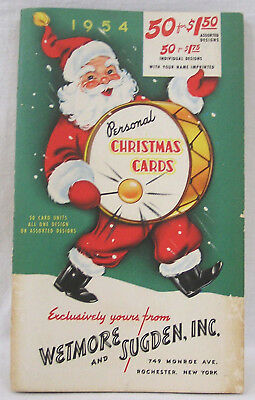 National Geographic Christmas Cards.Vintage 1954 Christmas Greeting Card By National Geographic