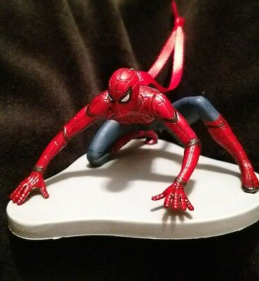 Disney Spider-Man Homecoming Christmas Ornament climbing crouching Spiderman