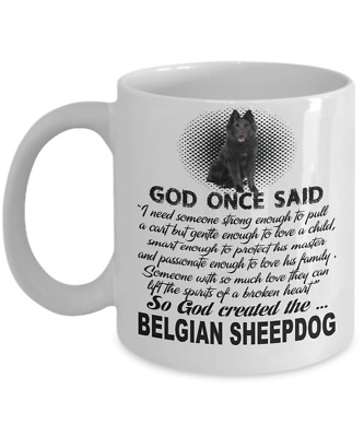 Belgian Sheepdog Dog,Chien de Berger Belge,Belgian Shepherd,Sheepdog,Coffee Mug