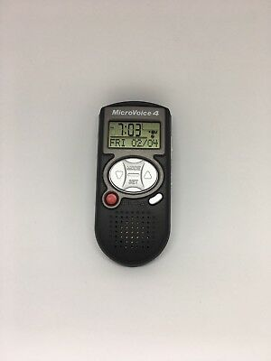 Micro Voice 4 TINY POCKET RECORDER for Voice Memo, Countdown, Stopwatch, Alarm!