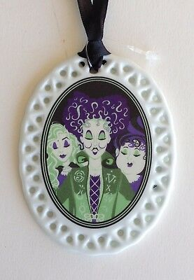 NEW 2017 Walt Disney World Hocus Pocus Villains Not So Scary Halloween Ornament