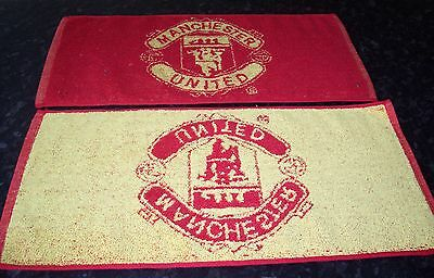 MANCHESTER UNITED Bar Towel, Golf towel, Snooker towel, Hand Towel FREE POST UK
