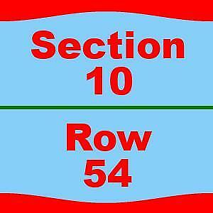 4 Tickets Notre Dame Fighting Irish Navy Midshipmen 11/16/19 Notre Dame Stadium
