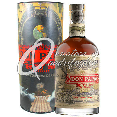 Don Papa Rum Aged In Oak Philippines 7 Anni Limited Edition Box Italy