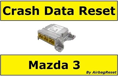 Crash Data Reset Service For Mazda 3 Airbag Module - BRE7-57K30