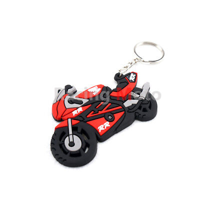 For Honda CBR 600RR 300RR 1000RR Keychain Key Ring Rubber Motorcycle Cool Model