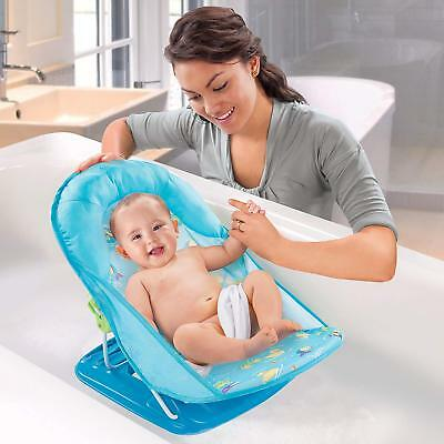 Summer Infant Deluxe Baby Bather Washing Shower Seat, Fast Ship