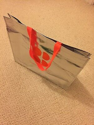 Sweaty Betty Silver Tote Bag Limited Edition 20y Large