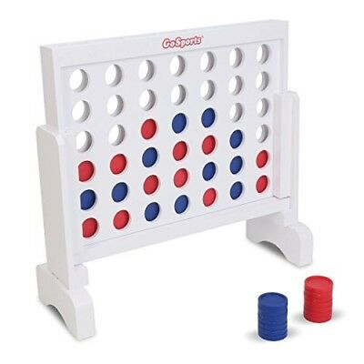 Giant Connect 4 Large Outdoor Games Yard Big Huge Four Lawn Wooden Jumbo Game