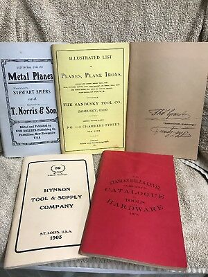 (5) Vintage Reproduction Tool Catalogs