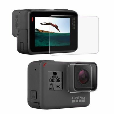 PULUZ For GoPro Accessories Tempered Glass Film LCD HD Screen Protector+Hou I3H6