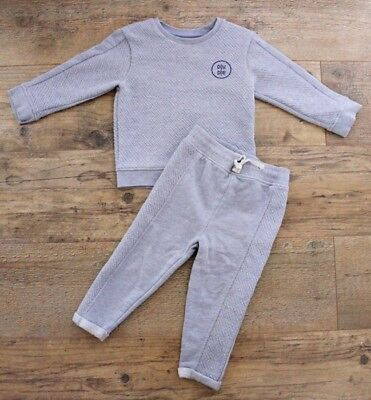 wide range amazing price cheapest price RIVER ISLAND MINI Baby Boys Grey Tracksuit Outfit Set ...