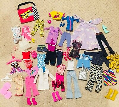 barbie clothes and accessories lot