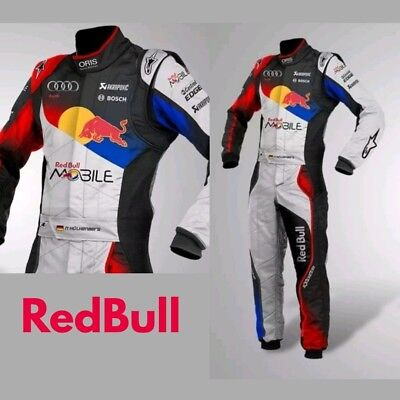 Red Bull Go Kart Racing Suit Cik Fia Level Ii ( Sublimation Printing )