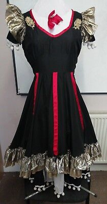 Spanish style costume with under dress.  Could be good for Panto 36 bust.