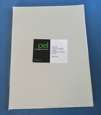 Preservation A4+ Archival Sleeves for Prints etc P565-475 - 25 Pack