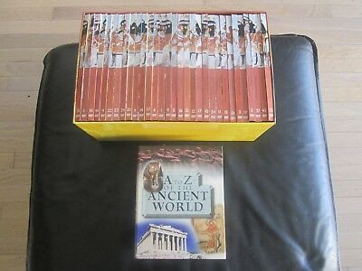 IMP Ancient Civilizations DVD Set 31 DVD's & A to Z of The Ancient World Book