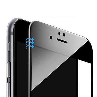 iPhone 6 iPhone 6S 3D FULL SCREEN Glas ColdEfct CURVED Panzerfolie COVER SCHWARZ