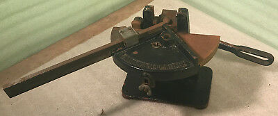 Antique H.B. Rouse & Co. Panameric Hand Miterer 1135 Printer's Lead Type Cutter