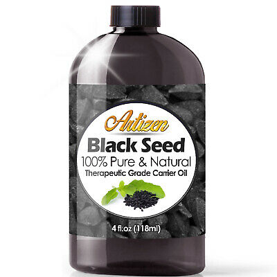 Premium Black Cumin Seed Oil Nigella Sativa (100% PURE & COLD PRESSED) - 4oz
