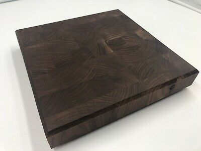 End Grain Black Walnut Cutting Board Serving Tray Chopping Block Charcuterie