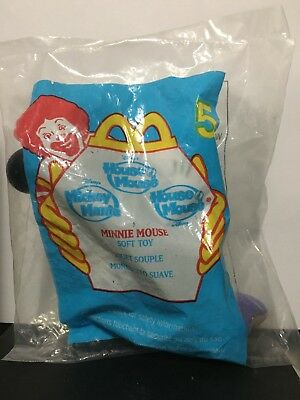 Mini Mouse Soft Toy From Mcdonalds