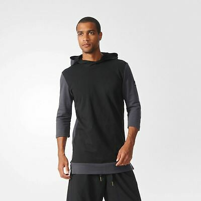 6455b3d290c018 adidas ABL BASKETBALL LEAGUE 3 4 HOODIE PULLOVER S 2XL HOODED GYM  PERFORMANCE