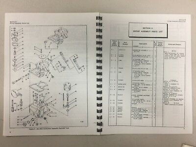 Stromberg Na - S3A1 Carburetor Overhaul And Parts Manual Skyport Services