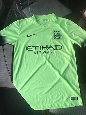 sports shoes 1784b 07f54 NIKE MANCHESTER CITY Jersey 2015/16 Third Kit