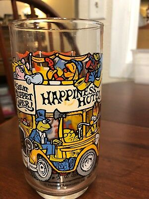 2 ~ collectible McDonald's Drinking Glasses ~ 1981 ~ The Great Muppet Caper!