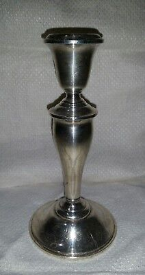 """Gorham Sterling Silver 6-3/4"""" CANDLESTICK Weighted S157"""