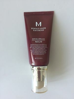 [Missha M Perfect Cover] SPF42 PA+++ #23 Natural Beige BB Cream  50ml