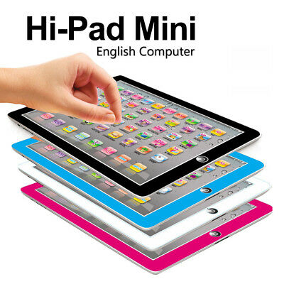 Functional Pad Kids Child Learning Educational Computer Mini Tablet Teach Toy US