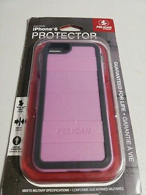 New Pelican  Protector Case For iPhone 6 /6s  Pink/Gray