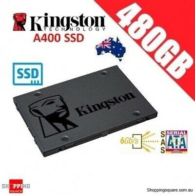 Kingston SSD 480GB A400 Solid State Drive SATA 3 6GB/s Laptop PC 500MB/s Gamers