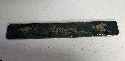 Blantons Bourbon Rubber Bar Mat Collectable Man Cave Must Have