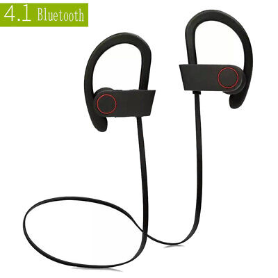 Sport Wireless Bluetooth Earphones Headset Headphones Earbuds Stereo For Samsung