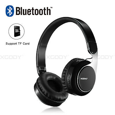 Bluetooth Headphones Over Ear Wireless Headset Noise Cancelling with Microphone